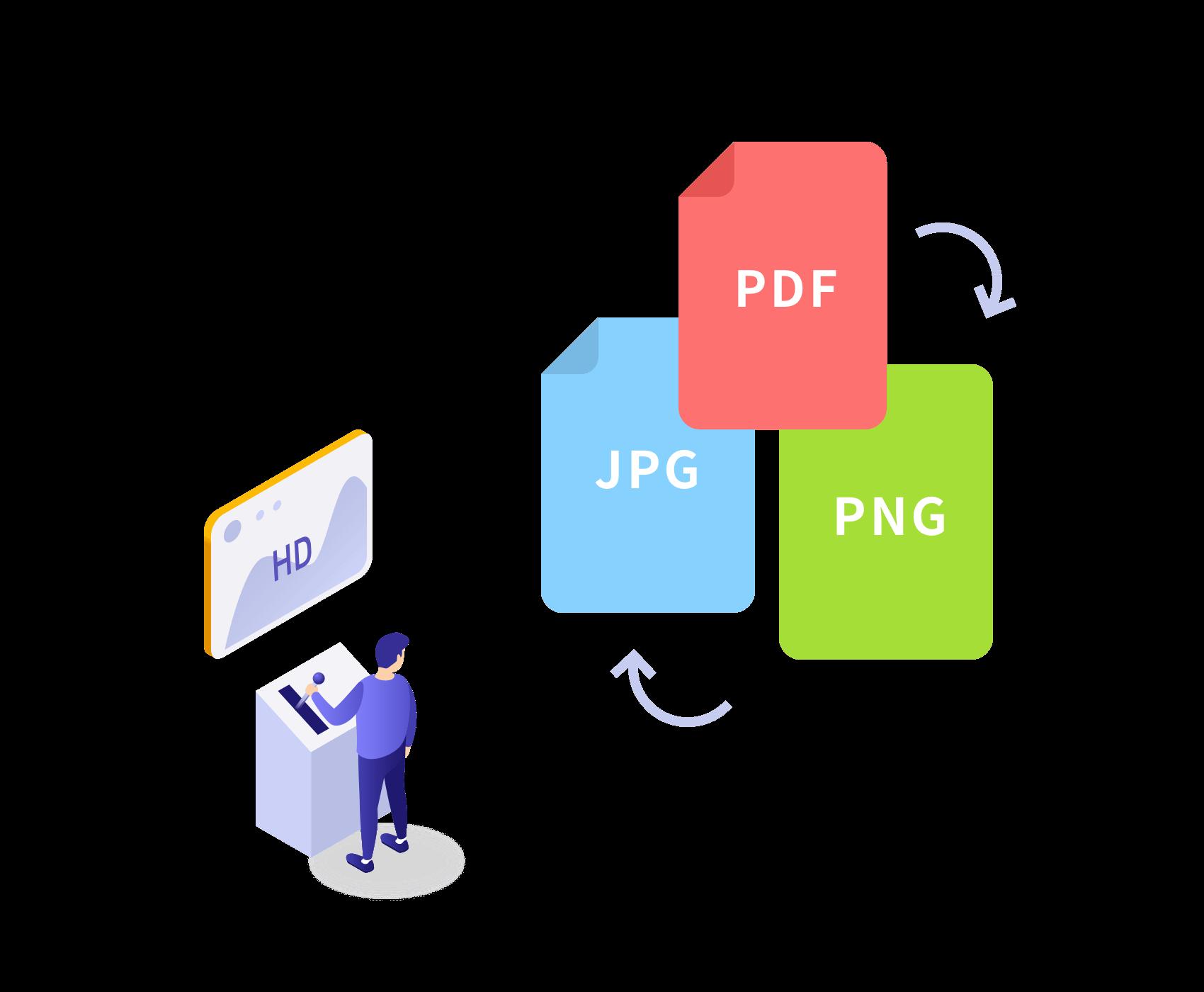 kintone pdf jpg 変換